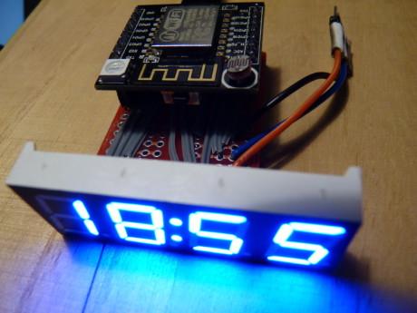 esp8266-clock