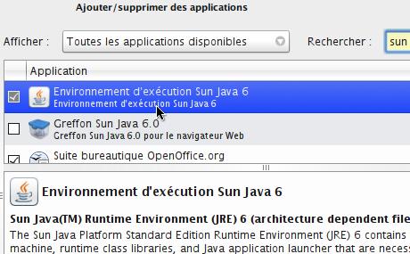Installation Java