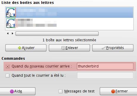 notification commande